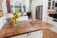 Kitchen Wood Counter Replacement