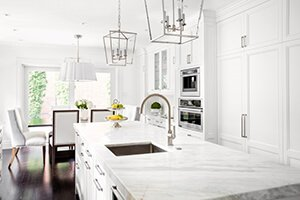 Kitchen Marble Countertop Remodeled