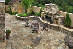 Outdoor Living Space Area